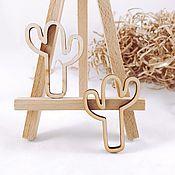 Материалы для творчества handmade. Livemaster - original item Cactus Frame. Handmade.