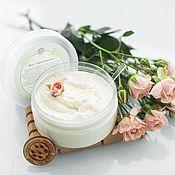 Косметика ручной работы handmade. Livemaster - original item Hand Body Cream Whipped Shea Butter Hydration and Nutrition. Handmade.