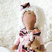 Куклы и игрушки ручной работы. Ярмарка Мастеров - ручная работа Ангел c букетом - розовый, нежный, добрый подарок, смешной, позитив. Handmade.