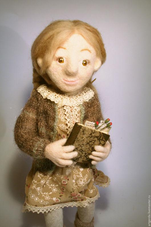 Коллекционные куклы ручной работы. Ярмарка Мастеров - ручная работа. Купить Кукла Марта. Handmade. Кукла ручной работы, текстиль