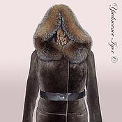 Одежда ручной работы. Ярмарка Мастеров - ручная работа Куртка женская меховая (бобер). Handmade.