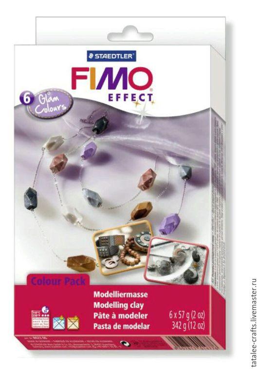 Для украшений ручной работы. Ярмарка Мастеров - ручная работа. Купить Гламурные цвета (8023 06) Fimo Soft - в наличии. Handmade.