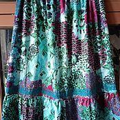 Одежда handmade. Livemaster - original item Skirts: Summer women`s skirt. Handmade.