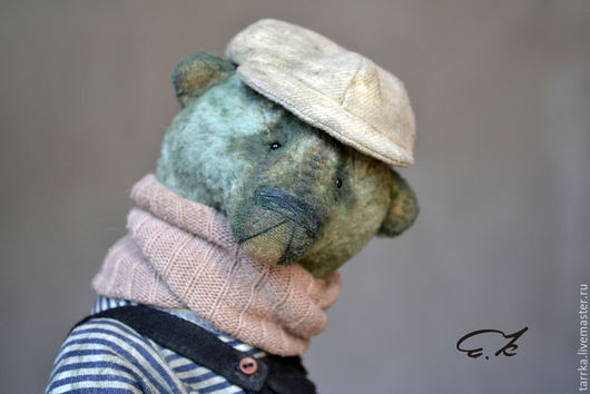 Мишки Тедди ручной работы. Ярмарка Мастеров - ручная работа. Купить Томас. Handmade. Серый, тедди, опики