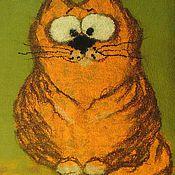 """Одеяла ручной работы. Ярмарка Мастеров - ручная работа Детское одеяло """"Рыжий кот"""". Handmade."""