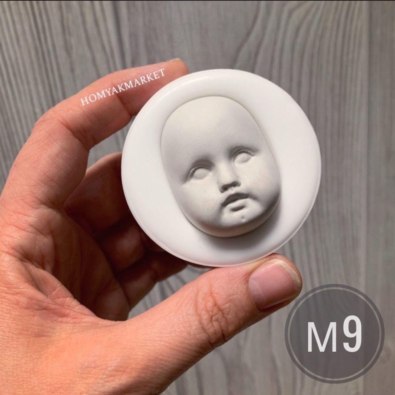 Молд М9 (форма для изготовления лица), Тедди Долл, Москва,  Фото №1