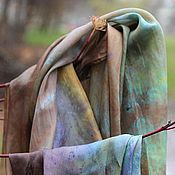 """Аксессуары ручной работы. Ярмарка Мастеров - ручная работа Палантин """" Волшебная леди Осень"""". Handmade."""