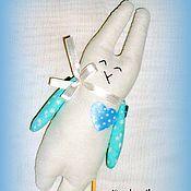Куклы и игрушки ручной работы. Ярмарка Мастеров - ручная работа Зайка (пасхальный декор). Handmade.