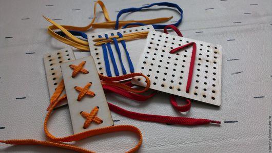Развивающие игрушки ручной работы. Ярмарка Мастеров - ручная работа. Купить Развивающая Игрушка-шнуровка.. Handmade. Развивающая игрушка, развивайка