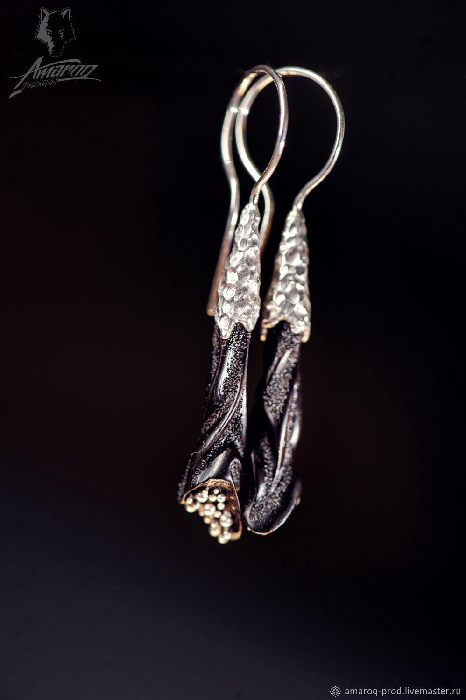 Abstract long earrings, Earrings, Odessa,  Фото №1