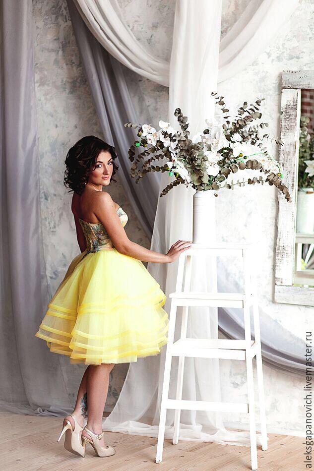 11c613e8a3a Платья ручной работы. Ярмарка Мастеров - ручная работа. Купить Платье с  лилиями.