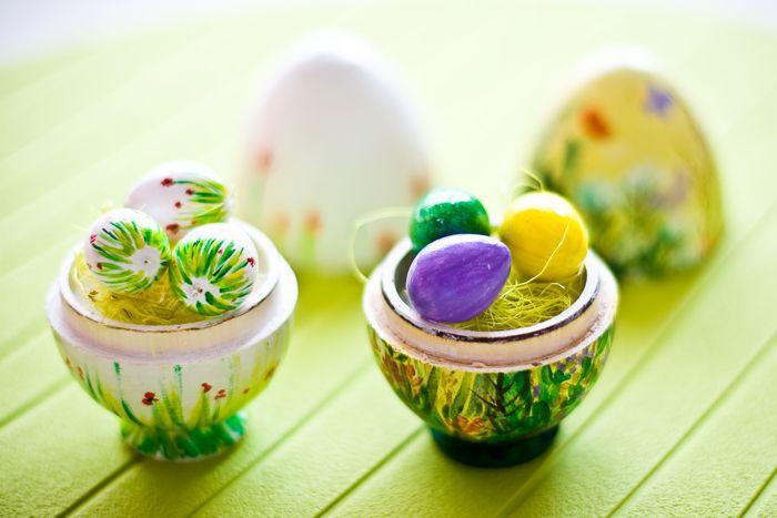 Деревянные яйца подарки