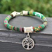 Украшения handmade. Livemaster - original item Amulet bracelet Tree of life silver. Handmade.