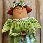 Куклы и игрушки ручной работы. Ярмарка Мастеров - ручная работа Ангел. Изумрудные травы.... Handmade.