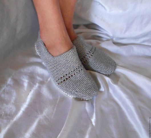 Обувь ручной работы. Ярмарка Мастеров - ручная работа. Купить Мокасины. Handmade. Серебряный, хлопок, обувь на заказ, туфли женские