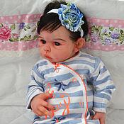 Куклы и игрушки ручной работы. Ярмарка Мастеров - ручная работа Авторская силиконовая кукла Лаура.. Handmade.