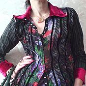 """Одежда ручной работы. Ярмарка Мастеров - ручная работа Шелковая блузка """"Ralph"""". Handmade."""