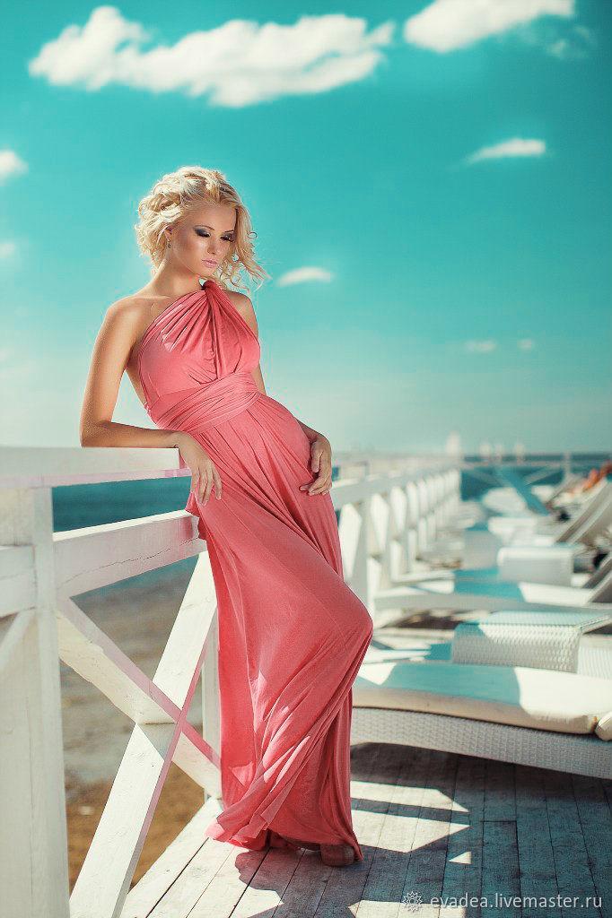 """Платье """"Коралловый риф"""", Платья, Москва,  Фото №1"""