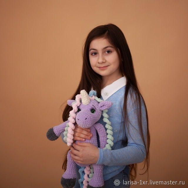 Нежная мягкая игрушка «Единорог», Мягкие игрушки, Кострома,  Фото №1