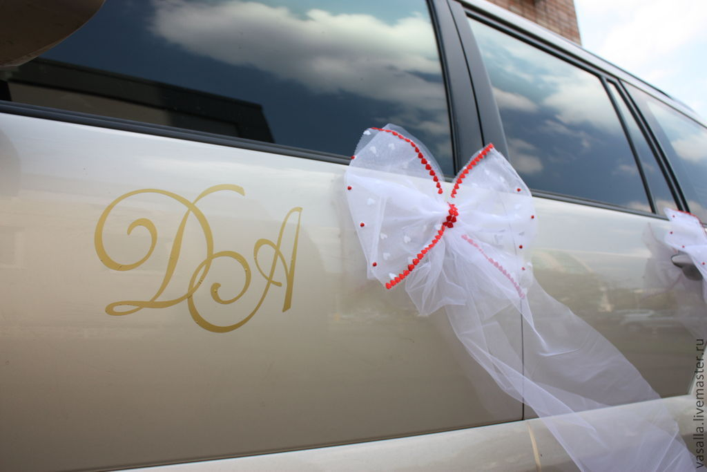 Decoration of wedding cars monogram letters shop online on wedding accessories handmade livemaster handmade buy decoration of wedding cars monogram letters junglespirit Choice Image