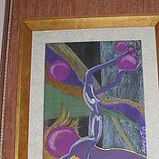 Картины и панно ручной работы. Ярмарка Мастеров - ручная работа энергетический эскиз. Handmade.