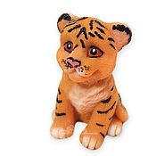 Косметика ручной работы handmade. Livemaster - original item Tiger soap is a symbol of the new year handmade souvenir as a gift to buy. Handmade.