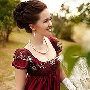 Одежда ручной работы. Ярмарка Мастеров - ручная работа Платье ампир. Handmade.