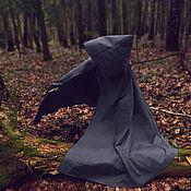 """Одежда ручной работы. Ярмарка Мастеров - ручная работа Чёрный плащ """"Тень"""". Handmade."""