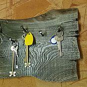 Для дома и интерьера ручной работы. Ярмарка Мастеров - ручная работа Ключница с коваными гвоздями. Handmade.