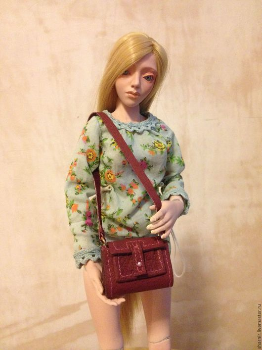 Одежда для кукол ручной работы. Ярмарка Мастеров - ручная работа. Купить #сумочки_для_кукол. Handmade. Сумочка ручной работы