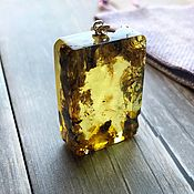 Украшения handmade. Livemaster - original item Amber. Pendant made of natural amber in silver. Handmade.