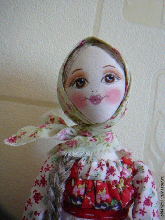 Народные куклы ручной работы. Ярмарка Мастеров - ручная работа. Купить Пасхальная кукла.Манечка.. Handmade. Ярко-красный