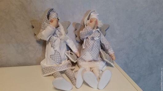 Куклы Тильды ручной работы. Ярмарка Мастеров - ручная работа. Купить Сплюшкины. Handmade. Белый, сонный ангел, ангелы