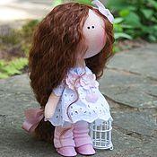 Куклы и игрушки ручной работы. Ярмарка Мастеров - ручная работа Бело-розовая зефирка. Handmade.