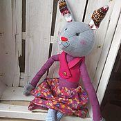 """Куклы и игрушки ручной работы. Ярмарка Мастеров - ручная работа Зайчиха """"Малинка"""". Handmade."""