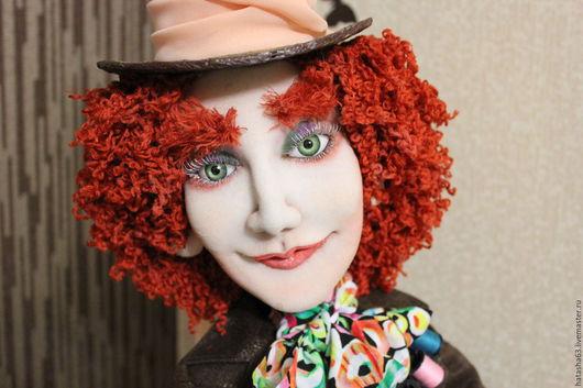 Коллекционные куклы ручной работы. Ярмарка Мастеров - ручная работа. Купить Чем меньше знаешь,тем легче тобой управлять.Безумный Шляпник!. Handmade.