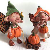 Куклы и игрушки ручной работы. Ярмарка Мастеров - ручная работа Тыковки. Handmade.