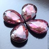Материалы для творчества handmade. Livemaster - original item Crystal Drop art. 3-49, 18h13 mm, amethyst. Handmade.