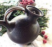 """Посуда ручной работы. Ярмарка Мастеров - ручная работа Чайник  заварочный """"Любимый"""". Handmade."""