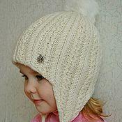 Работы для детей, ручной работы. Ярмарка Мастеров - ручная работа МОРОЗКО, теплая детская шапка. Handmade.