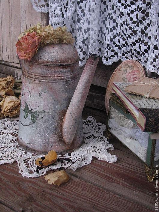 """Лейки ручной работы. Ярмарка Мастеров - ручная работа. Купить """"Bouquet de roses..."""" Лейка.. Handmade. Бледно-розовый"""