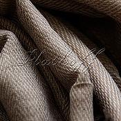 Аксессуары handmade. Livemaster - original item Italian beige-grey tweed stole