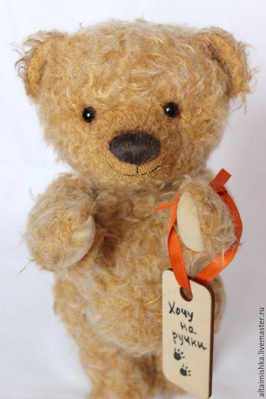 Мишки Тедди ручной работы. Ярмарка Мастеров - ручная работа. Купить Буля - липовый медведь. Handmade. Оранжевый, алтайский мишка