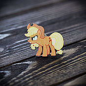 Украшения handmade. Livemaster - original item Wooden icon little Pony. Handmade.
