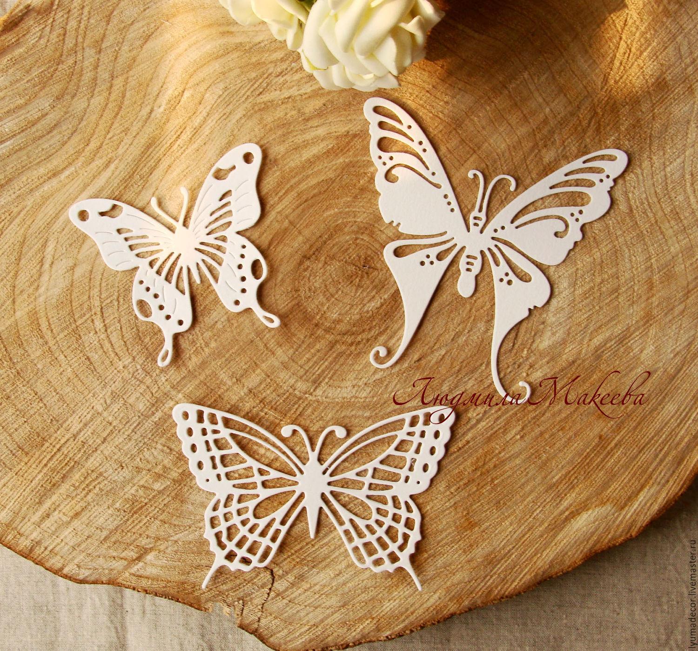 Как сделать бабочки из картона своими руками