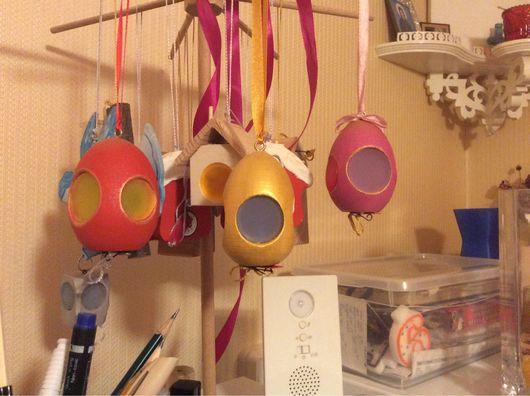 Подарки на Пасху ручной работы. Ярмарка Мастеров - ручная работа. Купить яйцо-фонарик. Handmade. Комбинированный, пасхальный подарок, светодиод