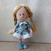 Тыквоголовка ручной работы. Ярмарка Мастеров - ручная работа Кукла Лапушка. Handmade.