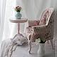 """Кукольный дом ручной работы. Комплект мебели 1:4 """"Розовые мечты"""". Мастерская кукольной мебели (sssanshi). Интернет-магазин Ярмарка Мастеров."""