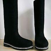 Обувь ручной работы. Ярмарка Мастеров - ручная работа Валенки Casual black. Handmade.