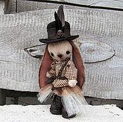 Куклы и игрушки ручной работы. Ярмарка Мастеров - ручная работа Зайка Джинни. Handmade.